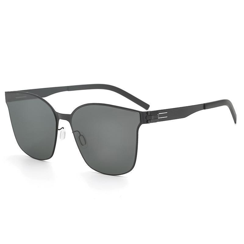 Alemanha Designer de marca ultraleve polarizado óculos de sol homens retrô quadrado verão sunglass mulheres uv400 óculos de sol protetivos