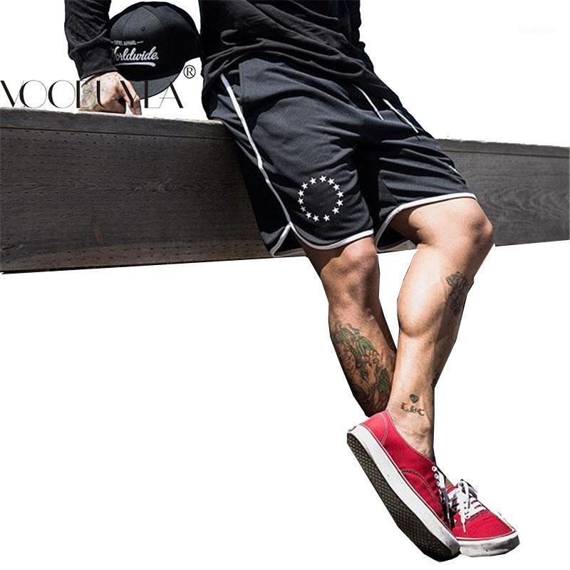 Voobuyla 2020 Summer Sport Shorts Homens Fitness Crossfit Sweatpants Compression Calças Curtas Underwear Mens Gym Run Calções de corrida1