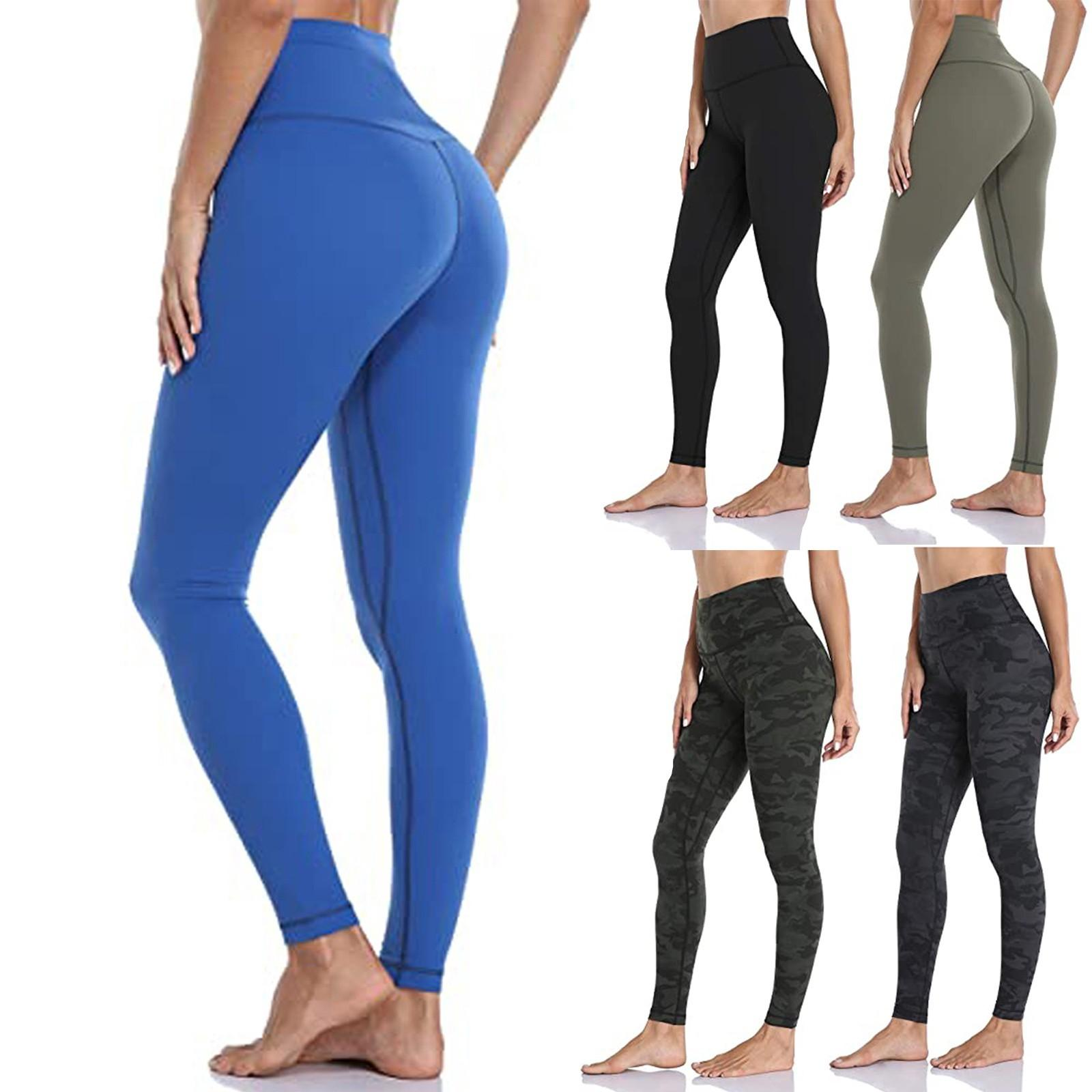 Taille haute Souffe Leggings Push Up Leggins Sport Femmes Fitness Running Pantalon Yoga Pantalon Energy Sans soudure Jambières Gym Gold # 50