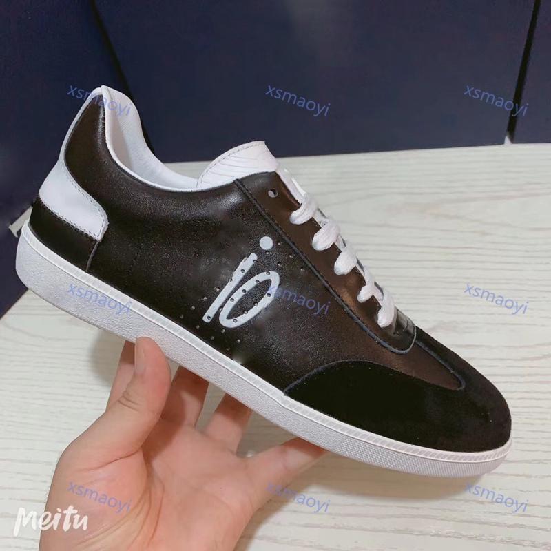 dior shoes Белая замша 01 кроссовки мужские повседневные туфли женщины открытый плоский ботинки мода люкс шнурок круглые ноги b01 кожаный тапки