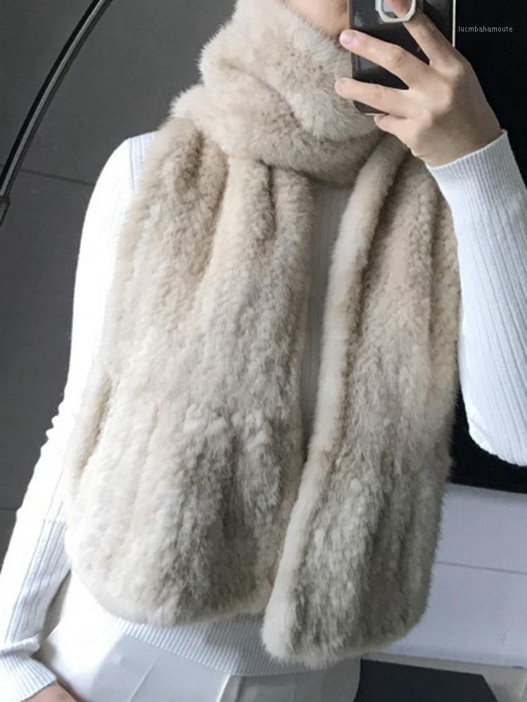 Шарфы воротник реальный меховой шарф женский зимний стиль модный темперамент и элегантный женский1