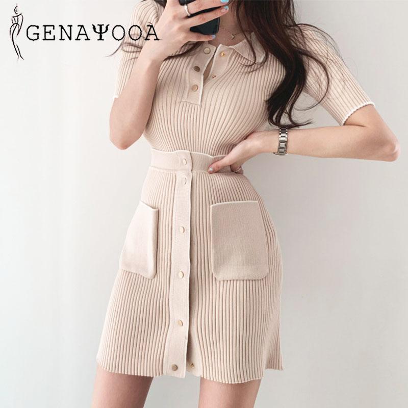 Genayooa Office Lady юбка набор женщина летняя футболка мини-юбка из двух частей набор набросок 2 шт. Женщины два наряда