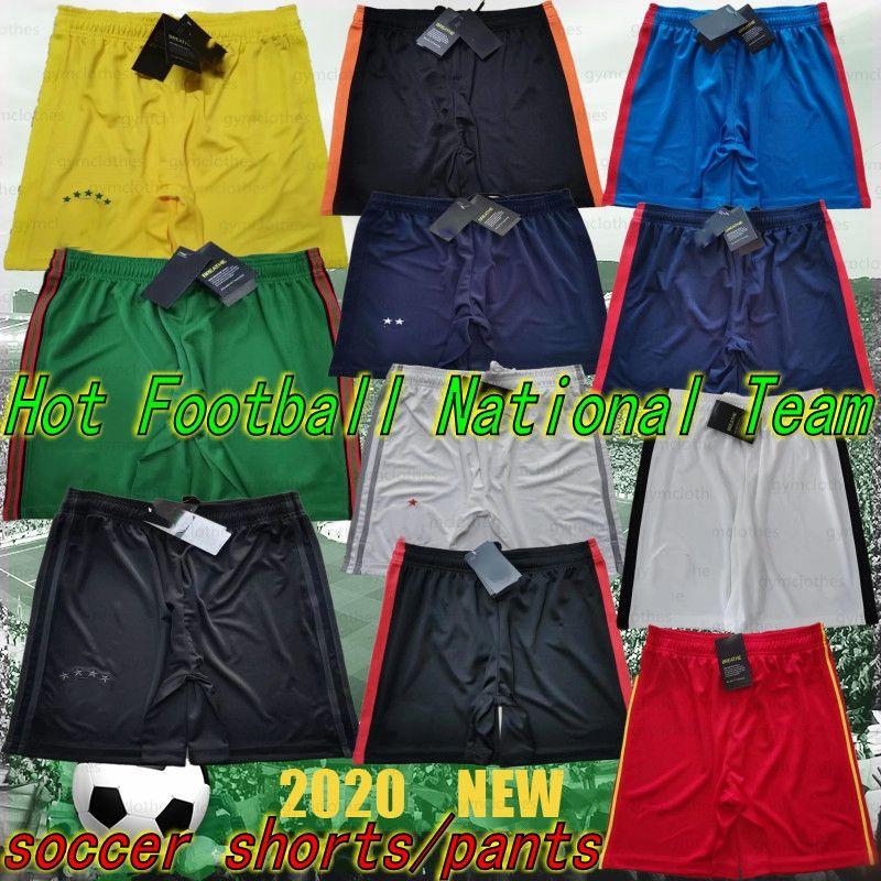 Thai 20/21 Nova Argentina Soccer Shorts Países Baixos Calças de Futebol Scotland 19/20 Calças de Futebol