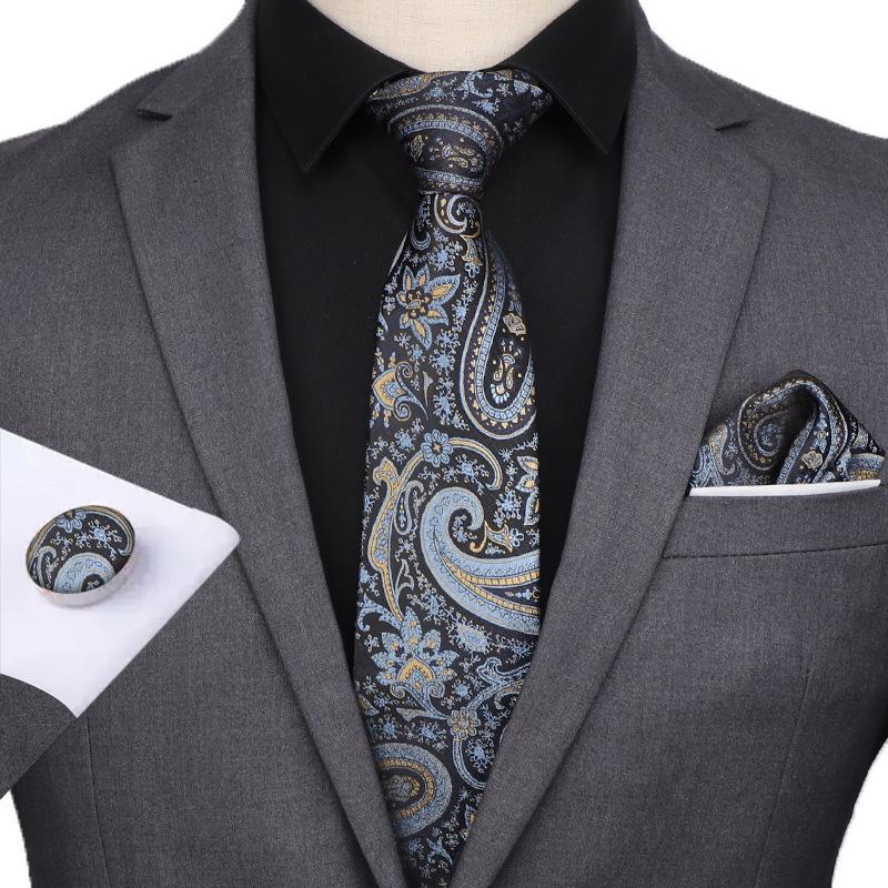 التعادل مجموعة ربطة العنق هانكي أزرار أكمام الكلاسيكية الرجال التعادل مجموعة ربطة العنق هانكي أزرار أكمام الأعمال عارضة هدية HHA1708