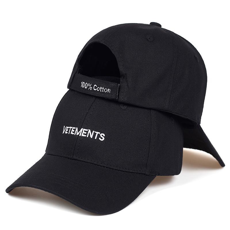 2019 nuovi VETEMENTS cappello di golf di cotone regolabile moda berretto da baseball ricamato all'aperto protezioni casuali selvatici unisex papà hatsX1016