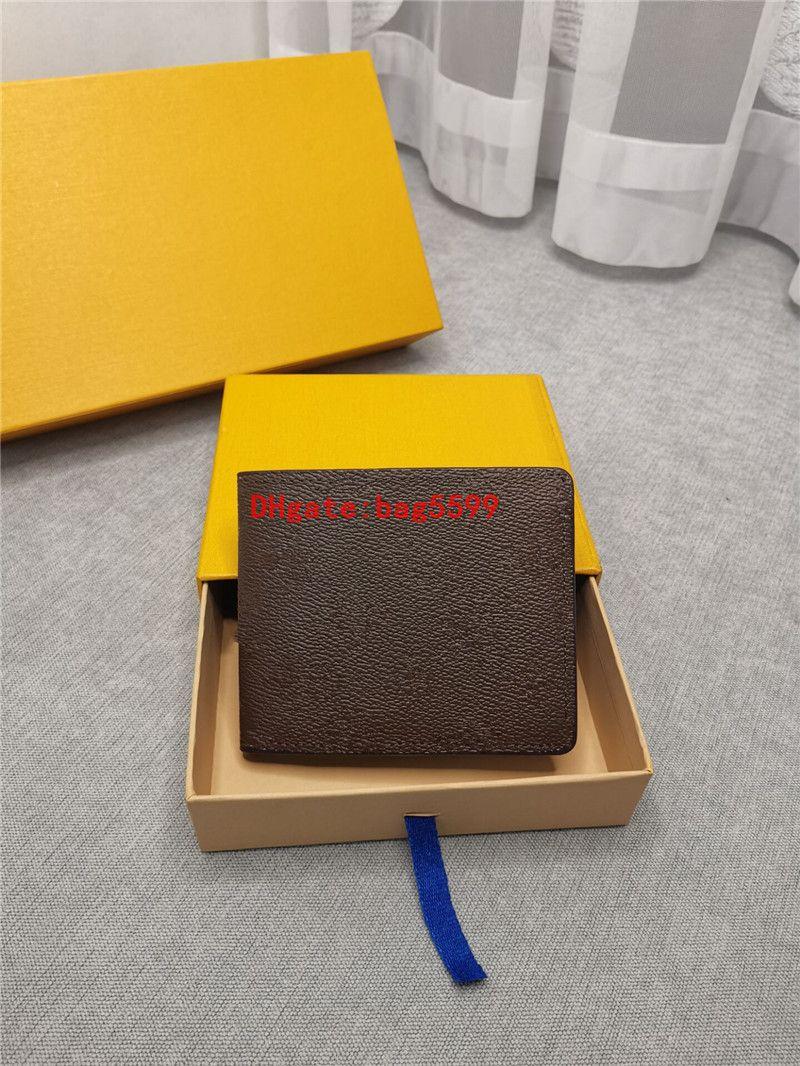 Европейский американской мода Мужчина бумажник известных мужчин бумажник Boy короткий маленький кошелек с мешком пылесборник пакетом Портмоне карты