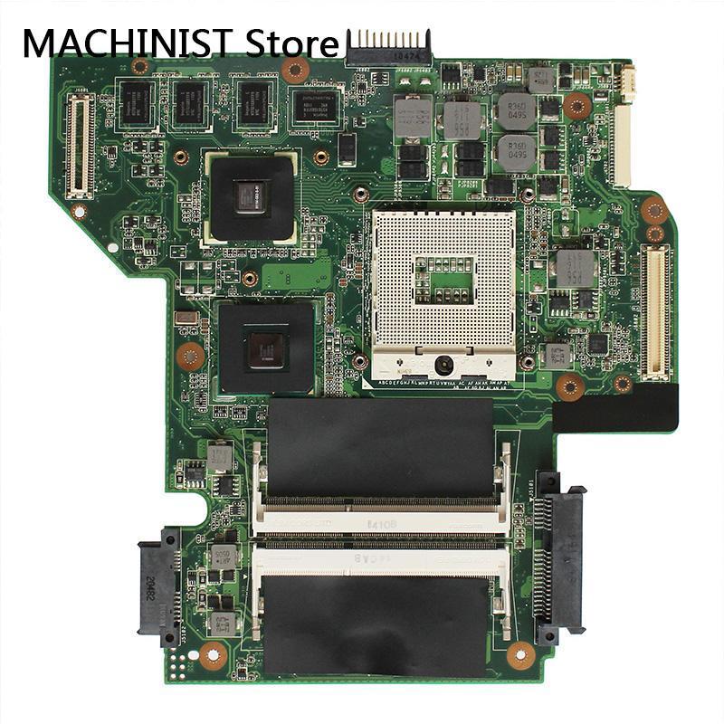 Original For ASUS U53JC U53J laptop notebook motherboard REV 3.1 HM55 DDR3 PGA989 310M 69N0HYM20A01 60-NZ5MB2000-A01