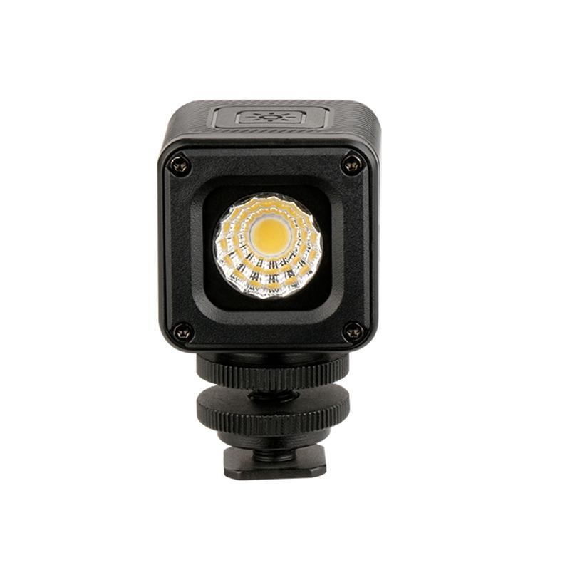 Ulanzi L1 Waterproof Dimmable LED Video Light On Camera, Adventure Lighting for Drones DJI Osmo Pocket Osmo Action DSLRs 7