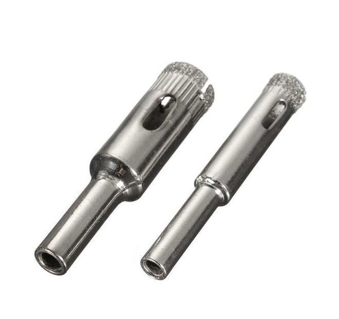 Drill Bits 11pcs/ Diamond Coated Core Hole Saw Drill Bit Set Tools For Tiles Marble Glass 3/4/5/6/7/8 bbyqot bde_luck