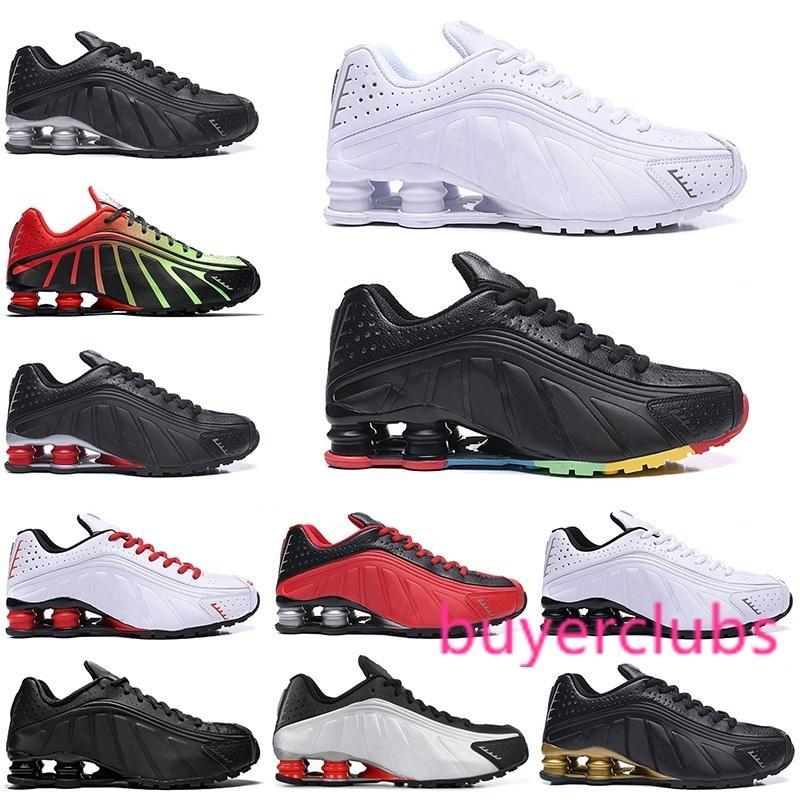 2020 OG R4 Chaussures de course Hommes Sport Chaussures Noir Blanc Triple Défi Rouge Marine Orange Or Argent Hommes Entraîneur Taille 40-46