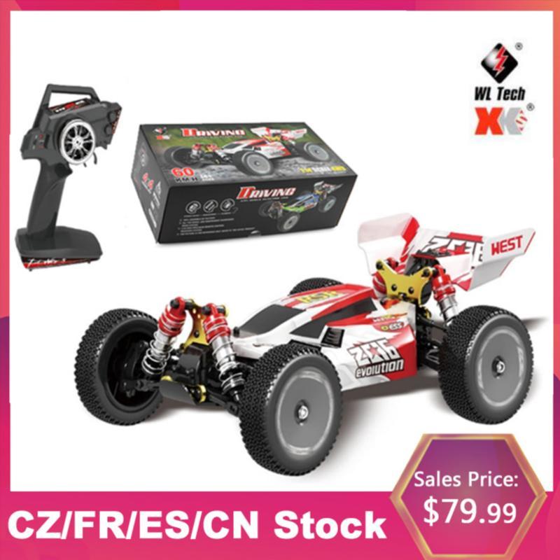 WLTOYS XKS 144001 RC CAR / H Высокая скорость 1/14 2. RC Buggy Racing Offiry Drift Car RTR дистанционного управления игрушка LJ200919