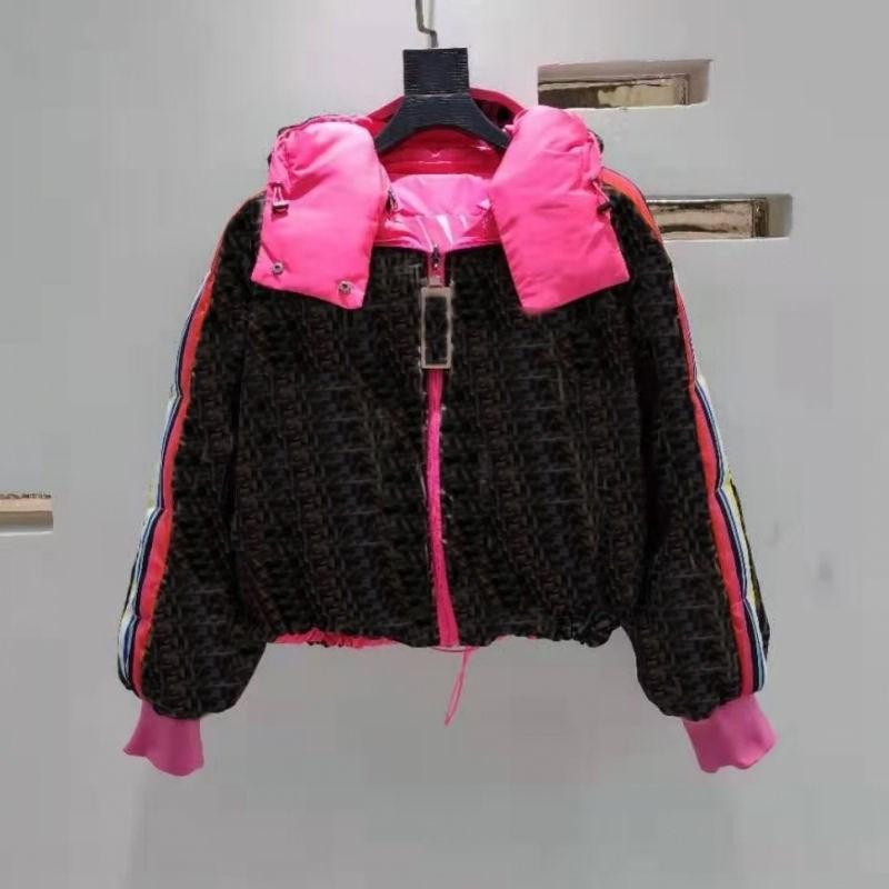Kadınlar Kış Ceket Erkek Tasarımcı Ceketler Moda Kapüşonlu Aşağı Pamuk Ceket Avrupa ve Amerika Mektubu Klasik Mont Lüks Yastıklı Kısa Coat