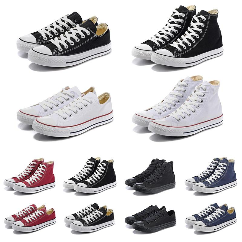 2019 Canvas 1970s Star Ox Luxury Designer Casual Shoes Hi Reconstructed Slam Jam Black Reveal White Hombres Mujeres Zapatillas de deporte Chaussures