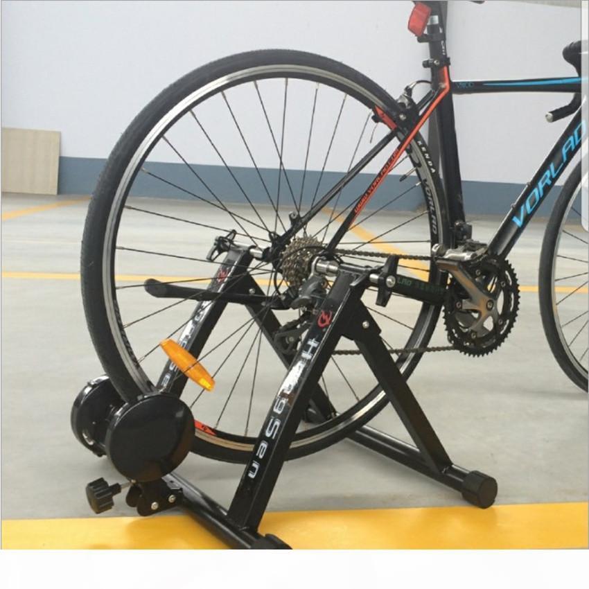 "Indoor Cycling Trainer Home Training Exercise 26-28"" Magnetic Beständigkeiten Bike Trainer Fitness-Station Fahrrad-Heimtrainer Roller"