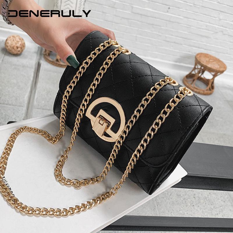 Moda Crossbody Borse da sera delle donne la catena di borsa del progettista del cuoio borse di alta qualità trapuntato pochette signore Borsa Donna