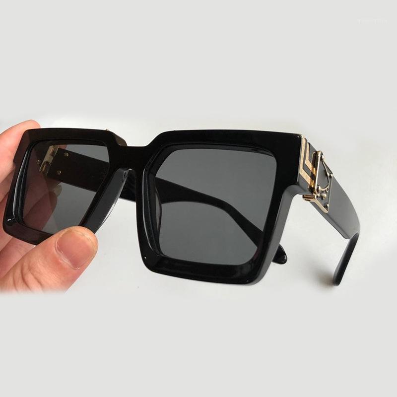 Квадратные солнцезащитные очки женщины мода оттенки мужчины логотип бренд дизайн роскошные солнцезащитные очки ретро гафас де Сол мохеров очки oculos feminino1