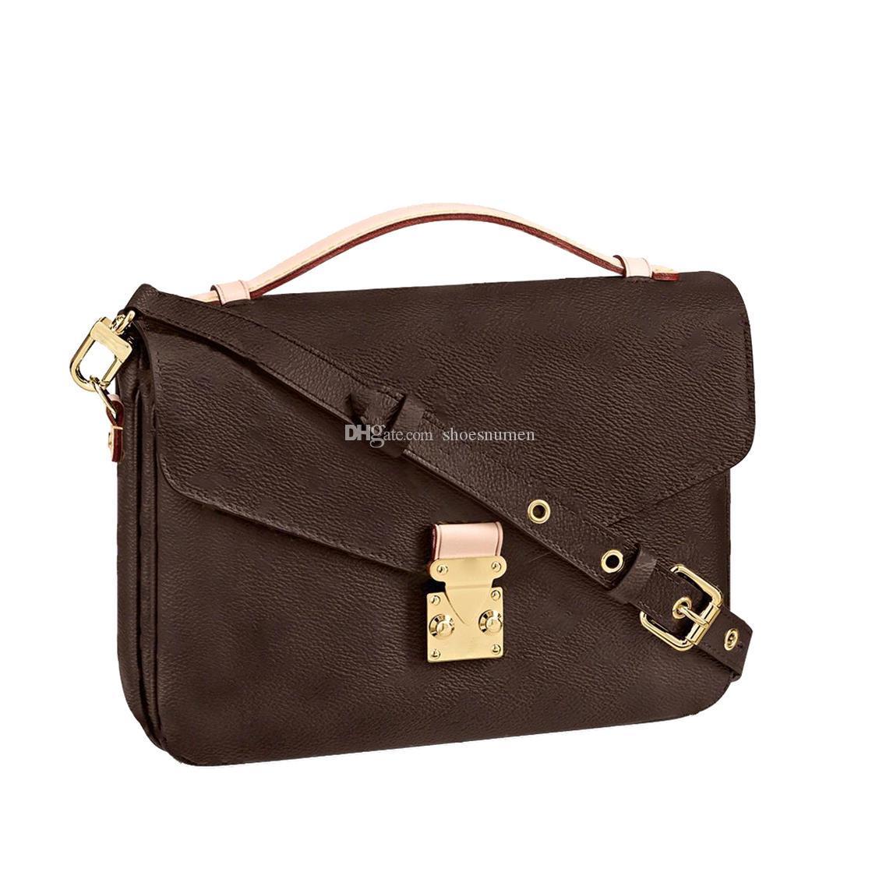 2021 حقيبة حقيبة الكتف حقيبة crossbody حقائب اليد حقيبة يد المرأة حمل المحافظ حقيقي الجلود مخلب حقيبة الظهر محفظة الأزياء براون أكياس # YCB02