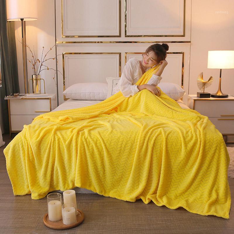 Nouveau flanelle molleton jet couverture super douce couverture moelleuse hiver couvertures chaudes chaude chambre décoration voyage
