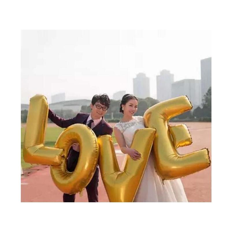 """Nuevo diseño 40 """"A - Z Alfabeto completo Globo Air Party Decoración de la boda Mylar Foil Balloon Jllyie Yummy_Shop"""