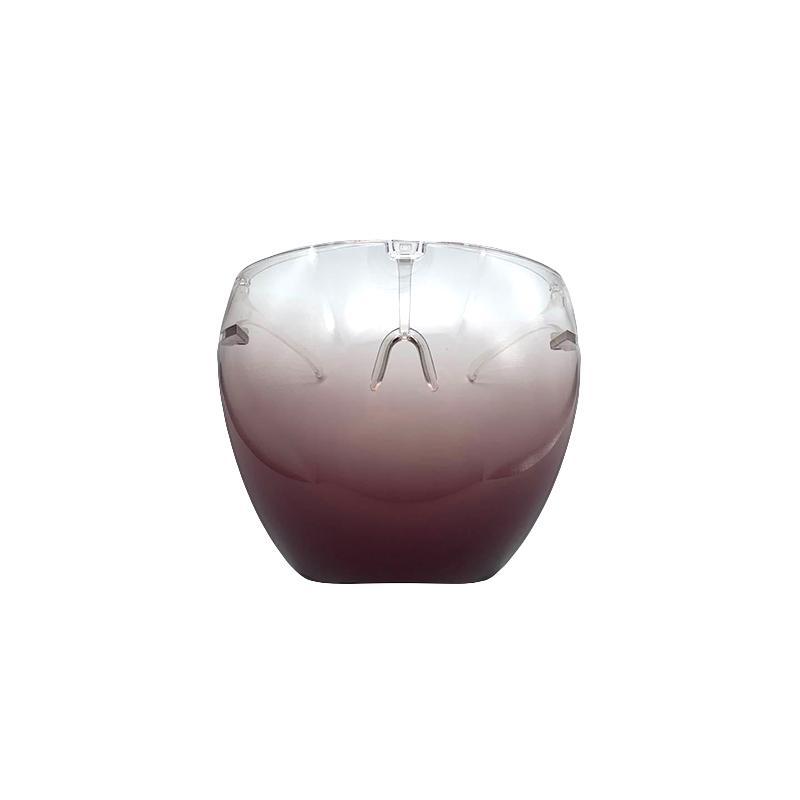 Безопасность FaceShield в очках Рамка прозрачная Полная крышка для лица защитная маска для лица Щит четкие дизайнерские маски DHL