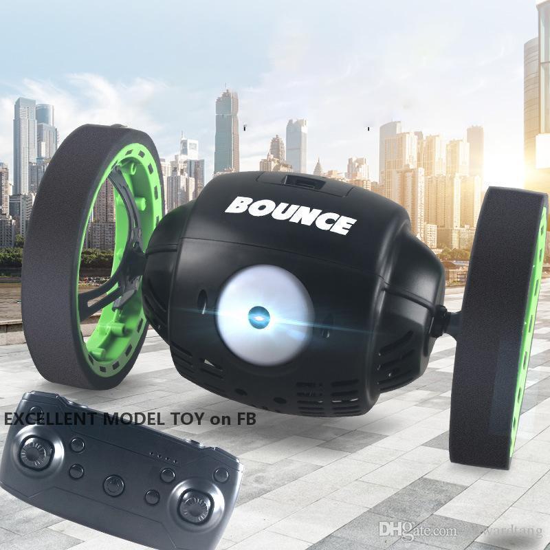 RC Bounce Truunt Car Игрушка, высота отказов 80 см, высота отказов, 2M камеры WiFi FPV, вертикальная ходьба, спин 360 °, музыкальные светильники, для рождества рождества, 4-2