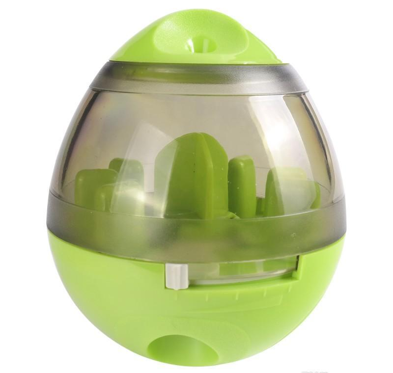 Animal de compagnie Tumbler Interactive Distributeur de nourriture Distributeur de nourriture IQ Puzzle Treat Ball Jouets Dog Puppe JLLRVI LAJIAYARD
