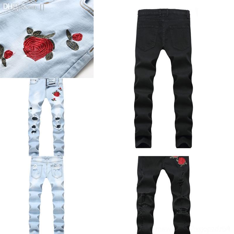Frtoua Hommes Galerie Femmes Galerie Splash Encre Galerie Dept Skinny Homme Jeans Jeans Couverture Qualité Manuelle Manuelle Haute Bootcut Denim Pantalon