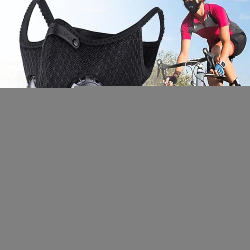 Noi Stock di protezione con filtro carbone attivo PM2.5 anti-inquinamento di sport che funziona Maschera Formazione Mtb bici della strada