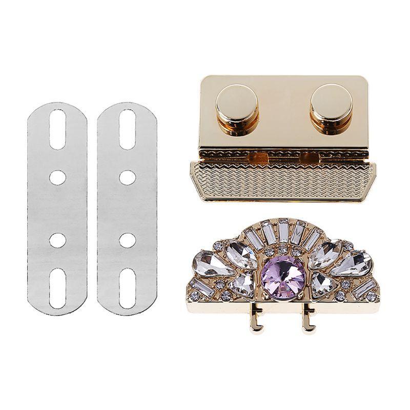 New Vintage 1 P Métal Fashion fermoir Turn Twist Lock pour sac de bricolage sac à main matériel Accessoires de haute qualité