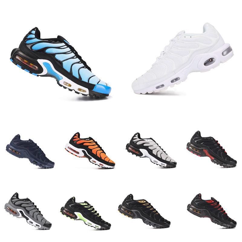 2021 Arrivo TN Plus SE Uomo Scarpe Triple Black Court Purple Hyper Blue Outdoor Mens Donne da donna Scarpe da ginnastica Strette Sneakers Dimensioni 7-11