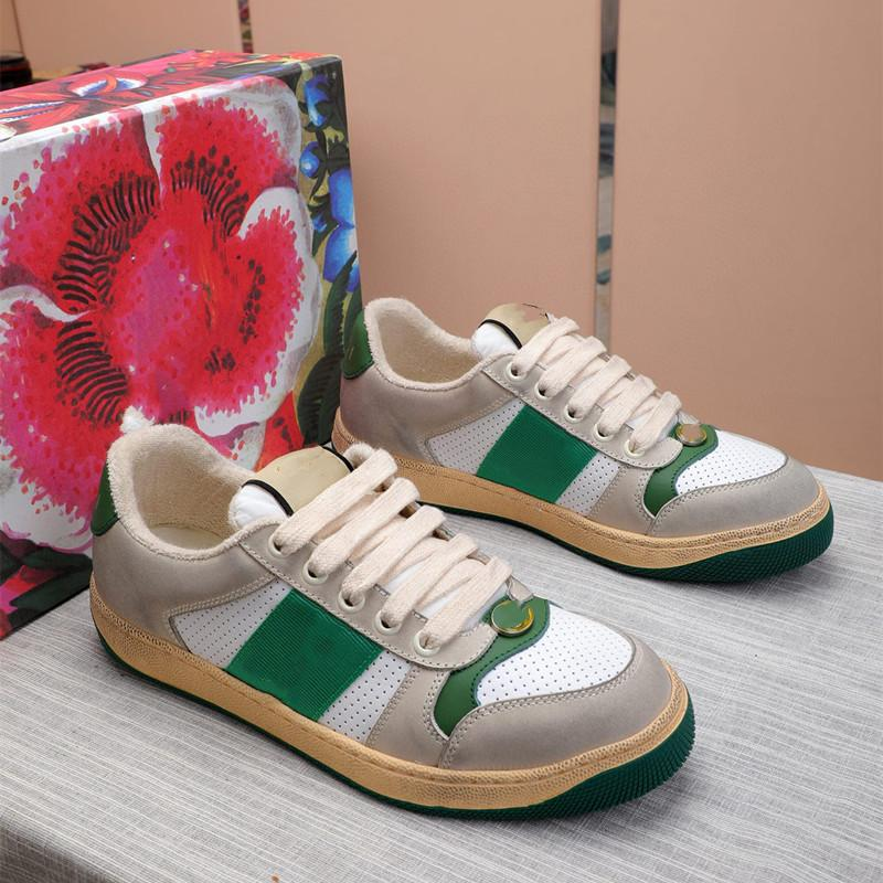 IDUZI 2021 Классические Мужчины Женщины Повседневная Обувь Тренажеры Python Любовь Вышитая Белая Кожаная Повседневная Обувь Высокое качество с коробкой