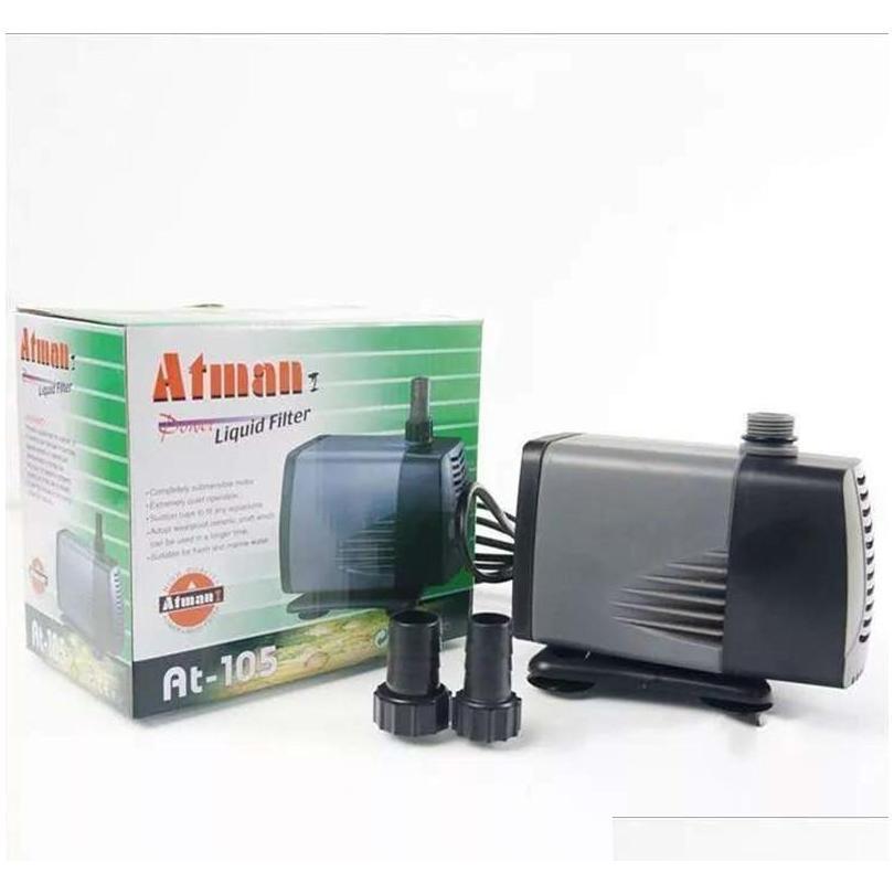 Atman At101-107 350-5000l/h Aquarium Submersible Pump Fish Tank Water Pump Liquid Filter Poweheader Variou qylvZm homes2011