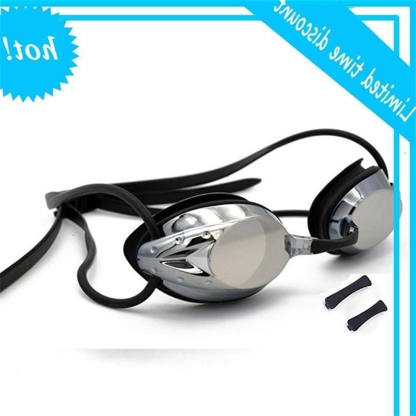 Heiße Verkaufsbrillen, Schwimmbrille Kein auslaufender Anti-Nebel-UV-Triathlon-Schwimmgläser mit Schutzfall