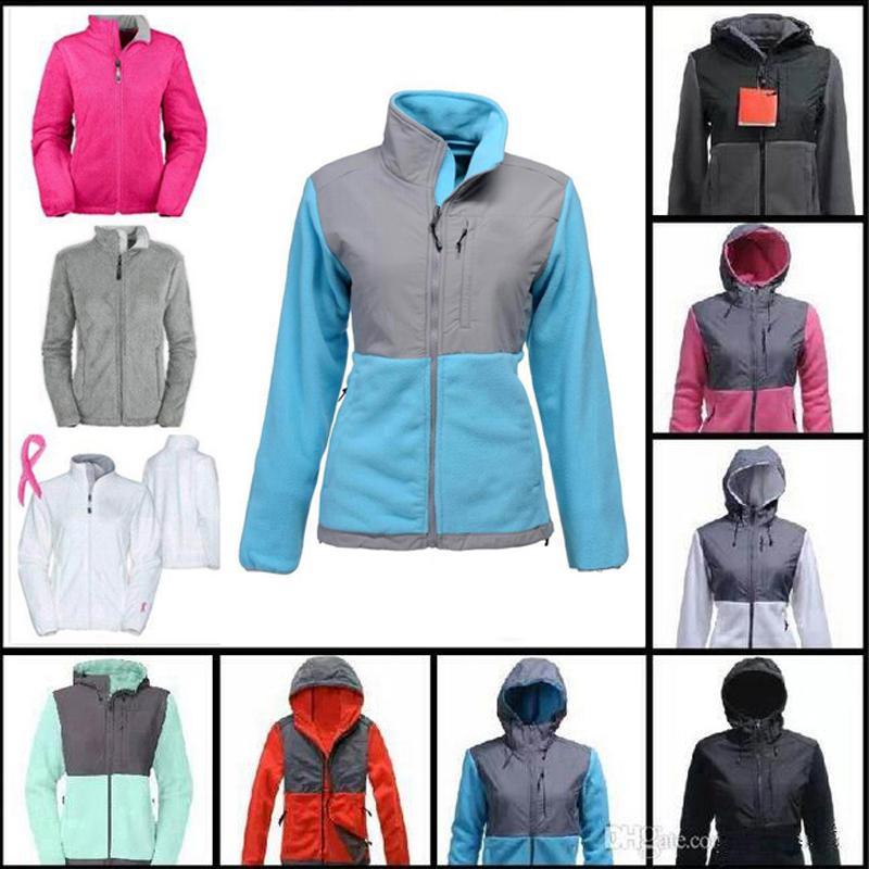 Envío gratis Nuevo invierno Fleece Chaquetas cálidas Cinta rosada para damas Abrigos a prueba de viento Abrigos al aire libre Casual Soft Shell Down Ski Sports Jacke