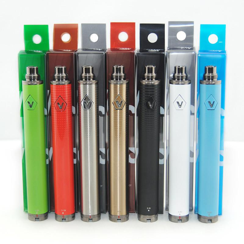 Vision 2 II 1600mah Ego C twist Vision2 Battery Electronic Cigarettes Adjustable Variable Voltage with USB Charger China Direct