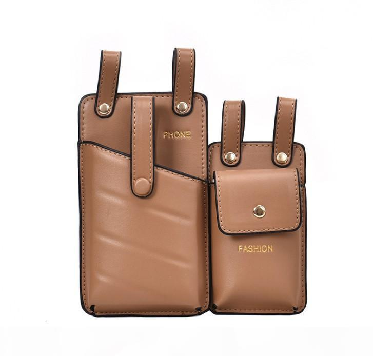 Moda Cuoio uomini delle donne del sacchetto della vita della cinghia di Crossbody del torace sacchetti della ragazza Fanny Piccolo Telefono Confezione Pack tracolla