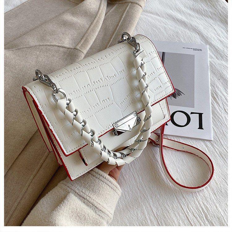 HBP Crossbody Bag Handbags Purses Designer New design Woman bag quality texture fashion shoulder bag chain Stone pattern