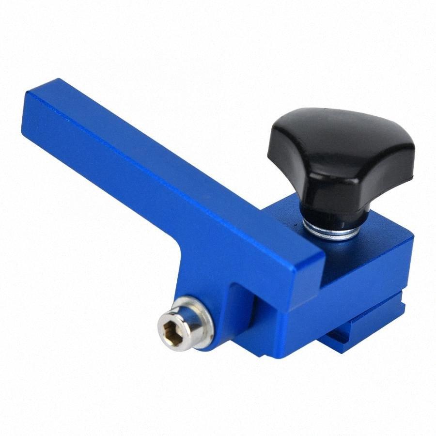 30 # / 45 # Limit Mitre Track Stop T-Track de alta calidad Herramienta de mano de la madera precisa Nueva Z0R2 #