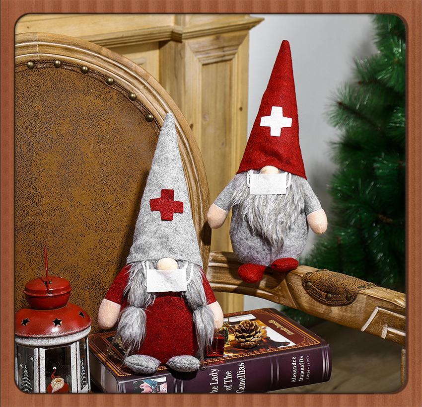 Outlet ELF Swedish Scandinavian Gnome Plüsch Nordic Tomte Zwerg Dekoration Weihnachtsverzierung Spielzeug Gesichtslose Puppe Geschenk 05