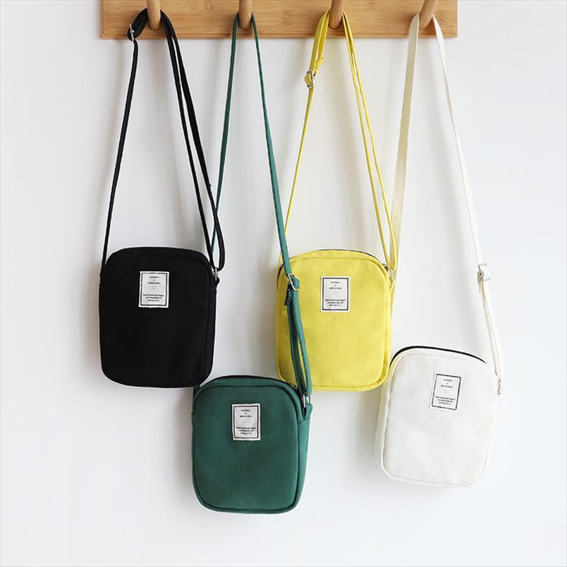 Ombro Womens coreano Bolsa Mulher Mensageiro Bolsas 2020 Telefone pequeno Móvel Bag Bolsas Bandoleira Sacos para menina Bolsas