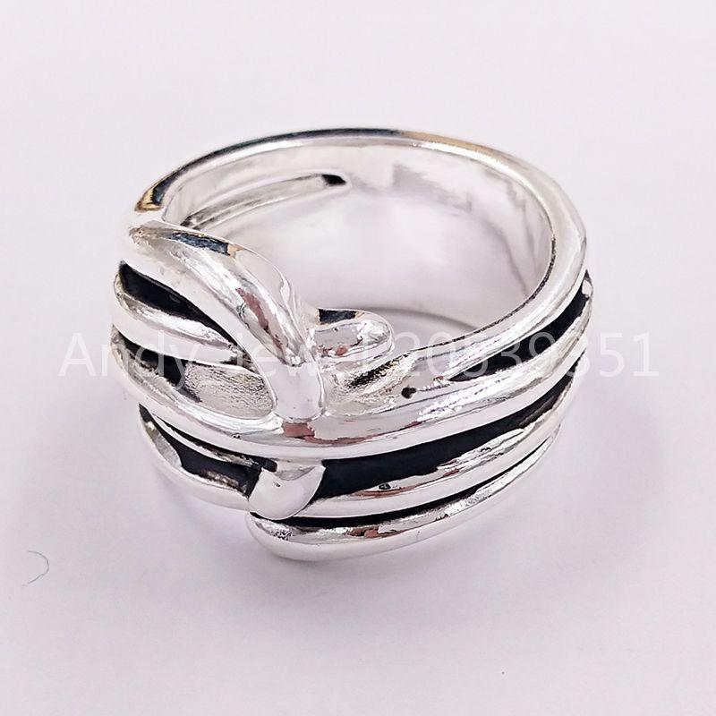 Autentica collana Trenzado Amicizia Braceletsuno de 50 Plated Jewelry Adatti regalo in stile europeo ANI0597MTL000