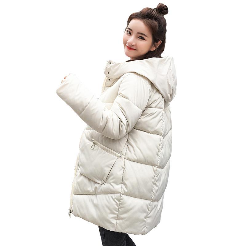 hot sale women winter hooded jacket female outwear cotton plus size warm coat thicken jaqueta feminina ladies camperas 201104