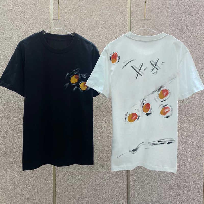 Мужская футболка для лета с буквой напечатанные повседневные мужчины T рубашки Новое поступление моды мужчины женские футболки уличные дышащие тройники 2 цвета
