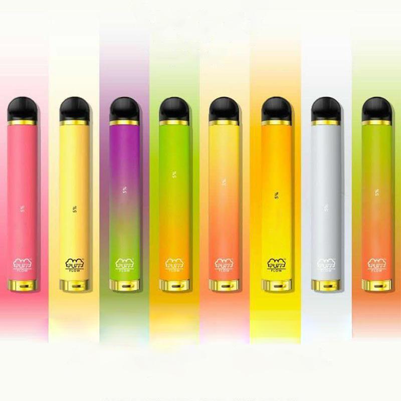 Puff Bar Flow Disposable Device Vape 1000 Puffs 600mAh 4ml Pre-filled Starter Kits Puffbar Flow Vaporizers