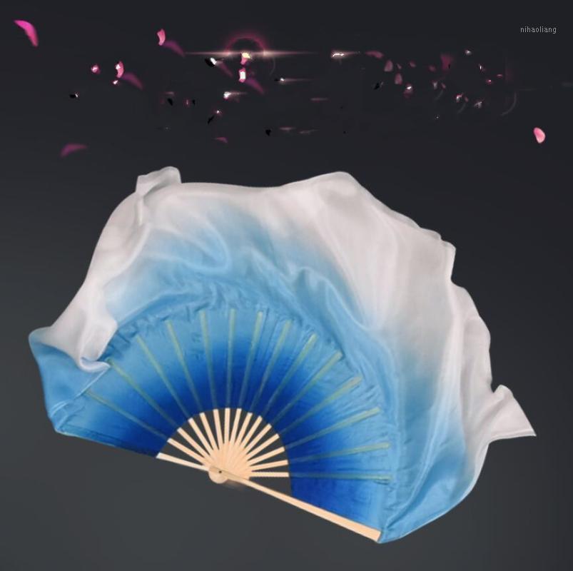 Vêtements de soie Ventre Veils Soie Stage Scène Spectacle Props Chinois Traditionnel Dance Fan paire Fournisseur de: Véritable Silk Véritable Couleur personnalisée Bleu Blue1