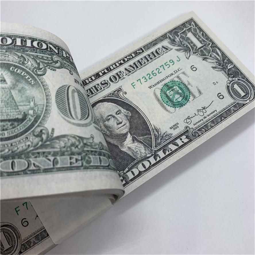 DOLLAR MVFBH Währungskopie Spielzeug Vertrieb US 25A Währungspapier Fabrik Requisiten Neue US-Währung Direkte Papier Jainq