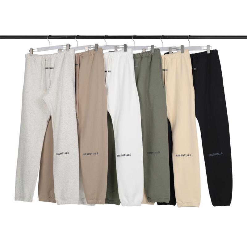 Erkekler Pantolon SİS Esansiyel Mektupları Uzun Pantolon Streetwear Spor Kalem Pantolon Koşucular Kadınlar Günlük Kış Giyim Koşu