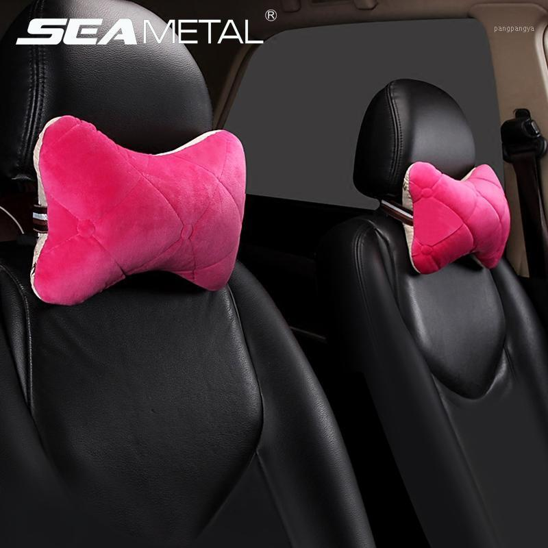 Car Headrest Pillow Four Seasons Interior Head Neck Cushion Auto Protector Neck Rest Pillows Universal Soft Pillow Accessories1