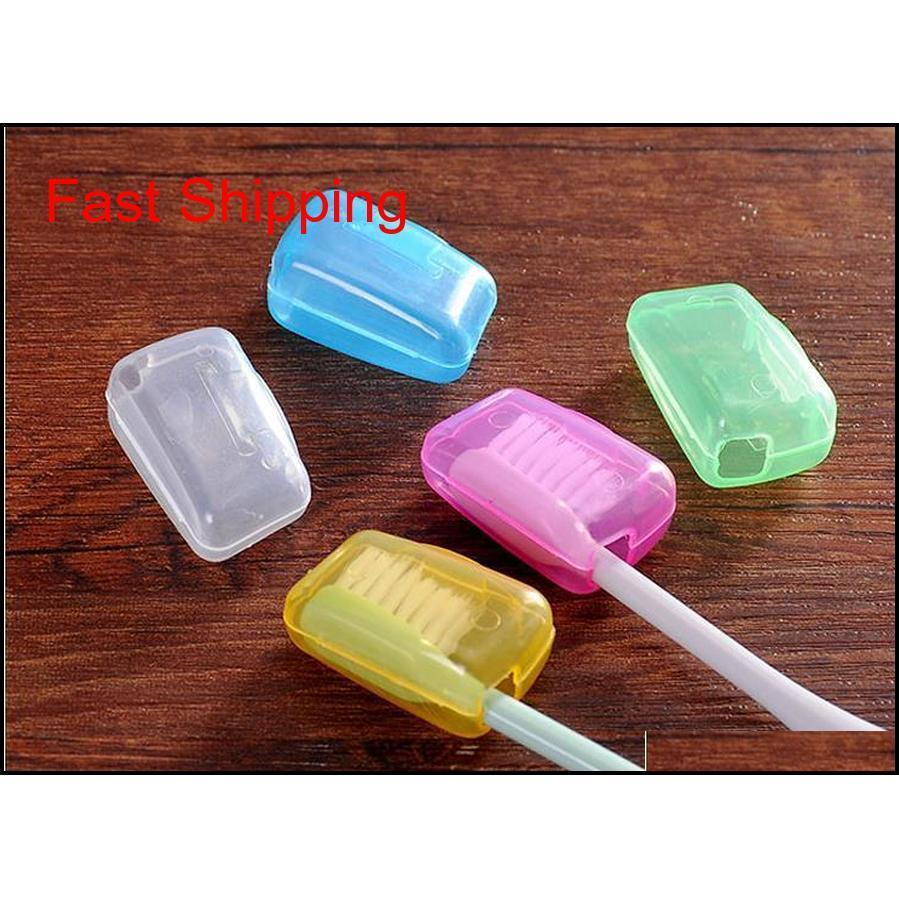 Portable Toothbrush Head Cover Holder Travel Hiking Camping Brush Case Protect Hike Brush qylTgG bde_luck