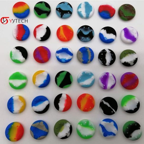 Syytech الملونة الإبهام عصا قبضة جويستيك سيليكون غطاء غطاء لحالة PS5 بلاي ستيشن 5 تحكم لعبة اكسسوارات أخرى